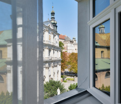 krakow-apartment-monastery-building-window-view